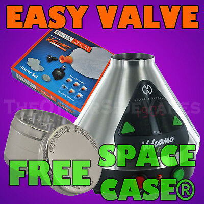 NEW - VOLCANO® DIGIT Vaporizer - EASY VALVE + SPACE CASE® + FREE SHIPPING
