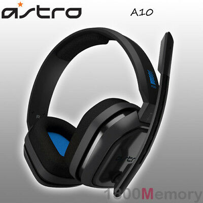 Astro A10 Wired Gaming Headset Headphones for PS4 Pro Xbox One PC Mac Blue Grey