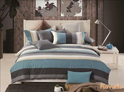 Single/KS/Double/Queen/King Size Bed Quilt/ Duvet Cover+Pillowcases Set