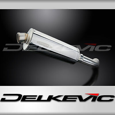 BMW F800 S F800 ST 06-14 OVAL STUBBY 350mm STAINLESS STEEL EXHAUST SILENCER