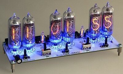 NIXIE CLOCK IN-14 Digit Tubes Tube Clock KIT with power