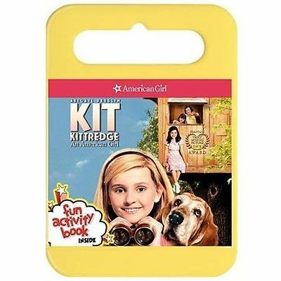 Kit Kittredge An American Girl Carrying Case Book NEW DVD Buy 3 DVDs Get $5 OFF