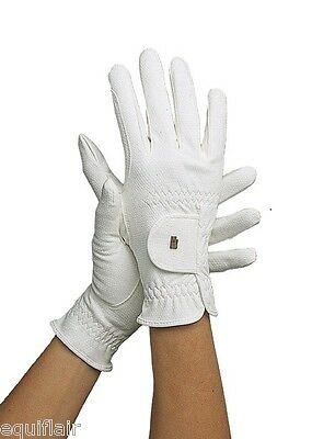 Roeckl Chester Winter Riding Gloves - White - All Sizes