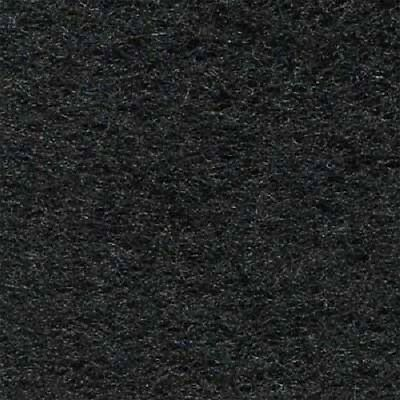 "Ozite Black Flexible Unbacked Automotive Carpet 18 oz 80"" Wide - By the Yard"