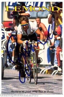 Greg Lemond ++Autogramm++Tour de France Sieger++