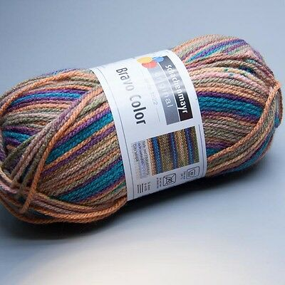 Schachenmayr Bravo Color 2092 madrid print 50g Wolle