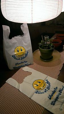 100 Large Carry Out Retail merchandise Supermarket Grocery Plastic Shopping Bag
