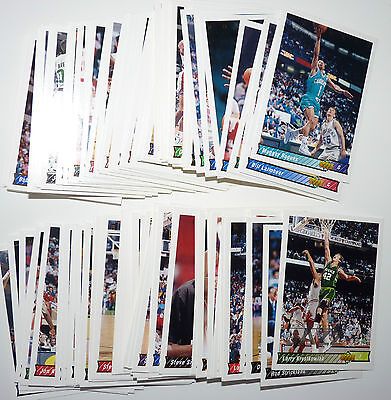 Lot 117 Cartes cards basket SANS DOUBLE NBA Upper Deck UD 1992/93 Version US