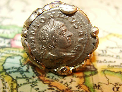 Elagabalus Sterling Silver Ring