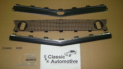 Camaro 67 Standard Grill 67pc Kit w/ Moldings+Hardware Grille **In Stock**