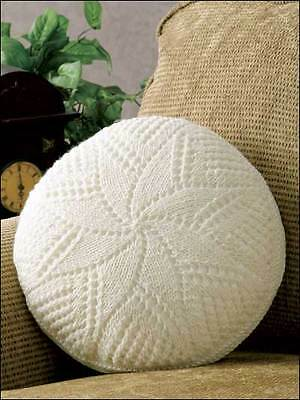 Spiral Star Pillowcushion Knitting Pattern 99p 175 Picclick Uk