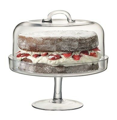 LSA Serve Cakestand & Dome 26.5cm