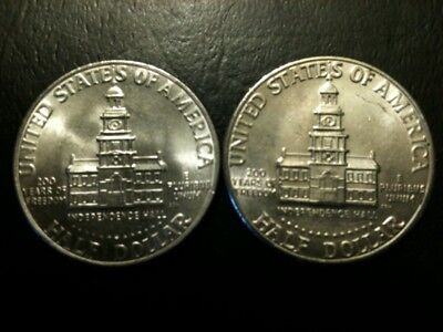 1976 P&D Kennedy Half Dollar Set AU+/BU Clad no Silver US 50 Cent About UNC MS