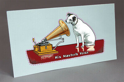 HMV Disc Gramophone Victor His Masters Voice Reproduction Instructions