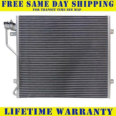 3058 New Ac A/c Condenser For Jeep Fits Liberty 2.4 3.7 L4 4Cyl V6 6Cyl