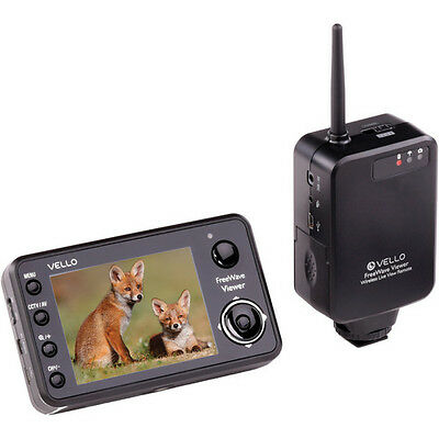 Vello FreeWave Viewer Wireless Live View Remote for Canon