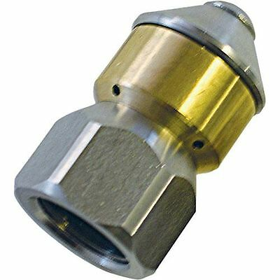 """Mecline 3/8"""" Rotating Sewer Cleaning Jetter Nozzle #5.0"""