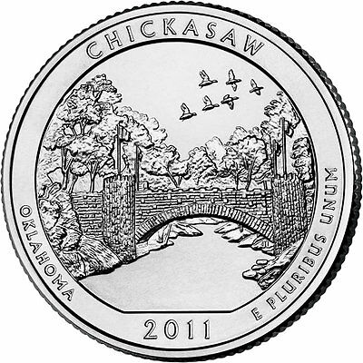 2011 P Olympic National Park Quarter Choice Uncirculated