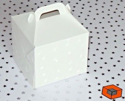 30 Individual Cupcake boxes inc inserts ~~~ 80 x 80 x 70/80 mm ~~~  only £5.25