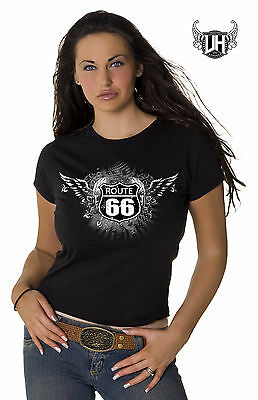 Route 66 Logo Ladies T- Shirt
