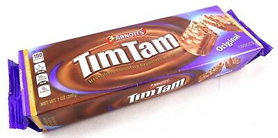ARNOTT'S TIM TAM Australian Original Chocolate Coated Cream Biscuits 7oz USA S&H