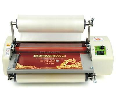 "New Four Rollers Hot and cold roll laminating machine for 13""(330mm) A3 + 3TPA4"