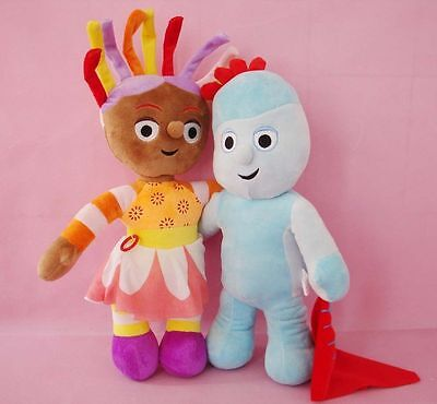 In The Night Garden Iggle Piggle & Upsy Daisy Soft Doll Plush Kids Stuffed Toy