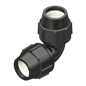 Plasson 63mm Elbow Poly Pipe Fitting RETAIL PRICE $40+