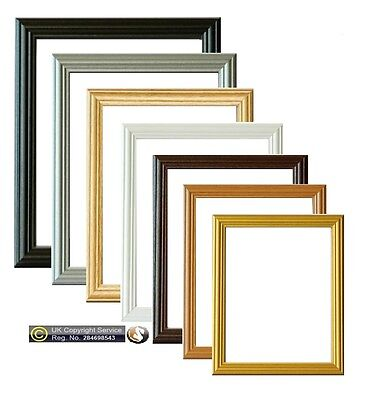 Picture Frame Photo Frames Poster Size Frame Wooden Black Beech Gold Pine Frame
