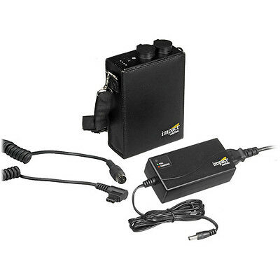 Impact Mini LiteTrek (LT) Battery Pack and Charger With CZ Cable for Canon
