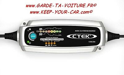 Ctek Mxs 5.0 Test And Charge - Chargeur - Ladegerät - Charger Cargador