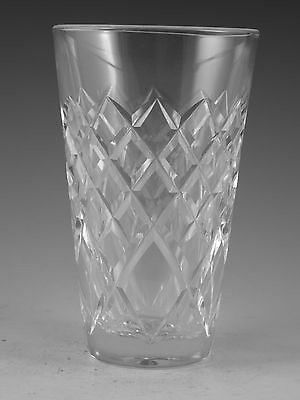 """WATERFORD Crystal - TYRONE Cut - Tumbler Glass / Glasses - 5"""""""