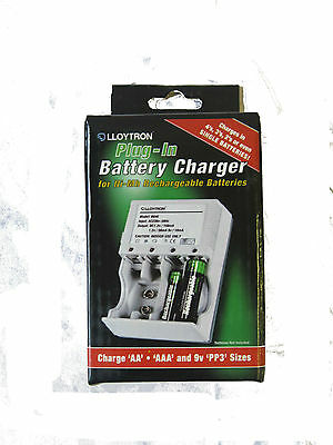 Lloytron Plug-In Battery Charger
