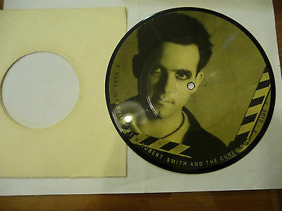 "ROBERT SMITH(THE CURE)""A RARE INTERVIEW Pt.4-disco 45 giri BAKTABAK UK""LIMITED"