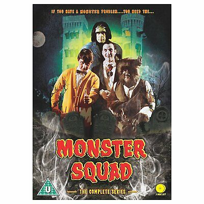 Monster Squad: The Complete Series - DVD NEW & SEALED (2 Discs)
