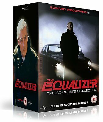 The Equalizer: The Complete Series Collection (1-4) DVD NEW & SEALED (24 Discs)