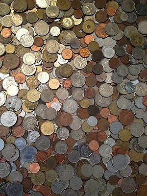 ~Foreign Pickers Special~ One Half Pound .5Lb ~ World Coins Lot~