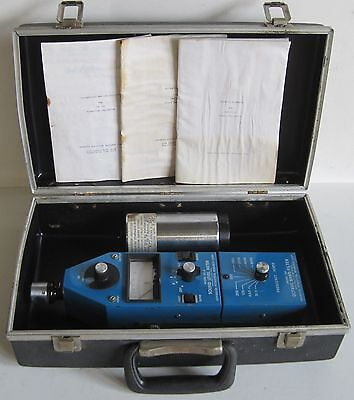 Advanced Acoustical Research Sound Level Meter 101-A and Octave Band Filter 201