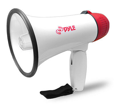 NEW PylePro PMP30 Professional Megaphone / Bullhorn with Siren