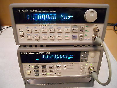 Keysight Agilent HP 53181A RF Frequency Counter 225 MHz GOOD CONDITION