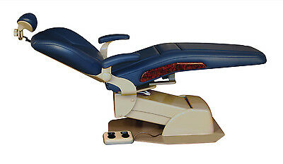 Westar 5000 Dental Consultation Hydraulic Patient Exam Chair w/ Plush Upholstery