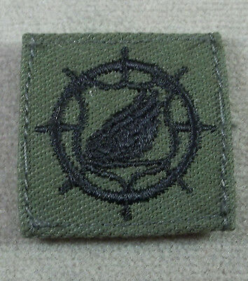 US Army Subdued Cloth Branch Insignia Transportation Corps - Pair
