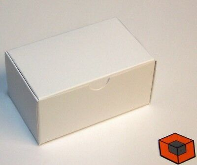 50 White ~~ HOBBY / CRAFT Boxes ~~