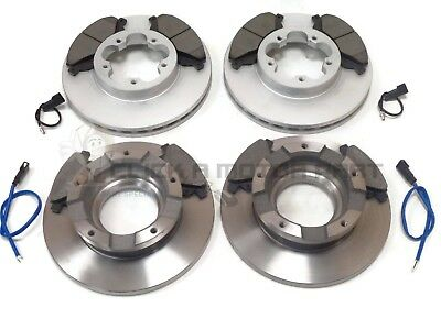 FORD TRANSIT 280 300 2.2 TDCi FWD 06-12 FRONT AND REAR BRAKE DISCS & PADS SET