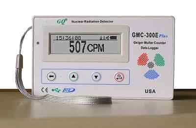 New GQ GMC-300E Geiger Counter Nuclear Radiation Detector Data logger Beta Gamma