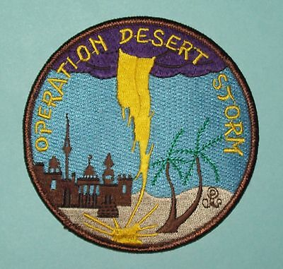 OPERATION DESERT STORM Coalition Forces Liberation of Kuwait Military Patch