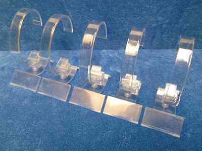 Set Of 5 Acrylic Watch Stands