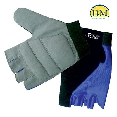 Wheelchair Pushing Gloves - Amara - Fitz - Leica - Wheelchair Accessory
