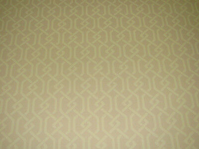 COLE & SON BEIGE SALISBURY COLLECTION 'FRETTE' WALLPAPER -11-YD ROLLS AVAIL