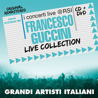 "Francesco Guccini  ""Live Collection@Rsi""  (Cd+Dvd)"